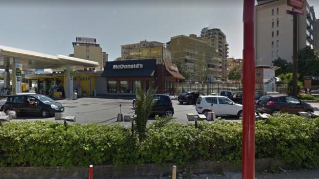 falso allarme bomba, mcdonalds palermo, Palermo, Cronaca
