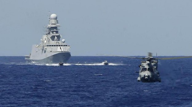 missione navale in Libia, Sicilia, Mondo