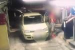 Parcheggio Talete a Siracusa, vandali in azione