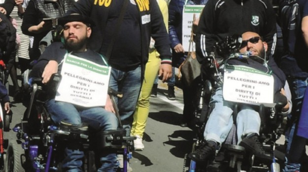 disabili, Caltanissetta, Cronaca