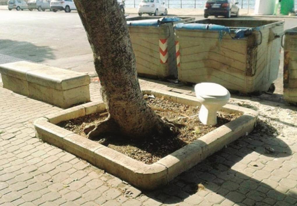 Cestini Rifiuti Da Bagno : Sporcizia e degrado deturpano trapani mancano i cassonetti e i