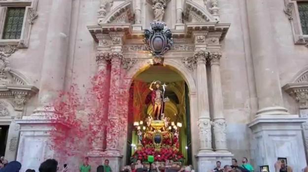Festa a Ragusa, Ragusa, Cronaca