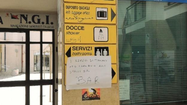 stazione marittima trapani, Trapani, Cronaca