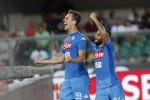 Il Napoli risponde alla Juve: 3-1 al Verona - Le immagini della partita