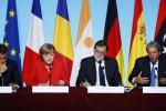 """Vertice Ue sui migranti, sostegno all'Italia: """"Freniamo le partenze in Africa"""""""