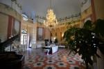 Gli interni di Villa Ramacca a Bagheria