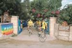 Dall'estero per curare Favignana: giovani nella villa confiscata
