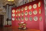 In mostra piatti d'argento dei Medici