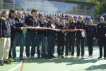 Bosch regala a Acquasanta Terme un playground polifunzionale