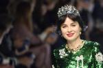 Milano Donna in verde e in formato XL