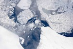 Record negativo dei ghiacci nell'Artico, mai così ridotti