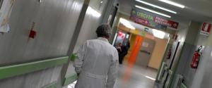 L'interno di un ospedale in una foto di archivio