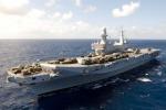 Ospedale di bordo della portaerei Cavour apre le porte a quattro piccoli pazienti a Taranto