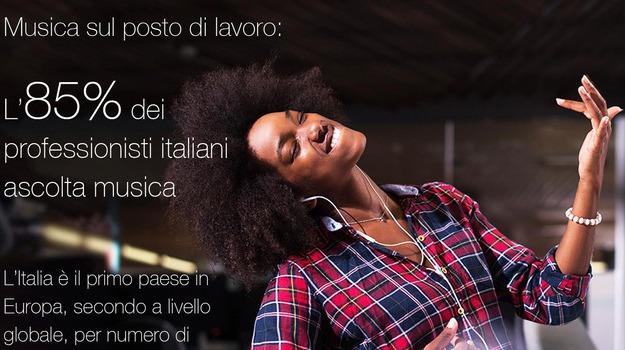 Ufficio Per Musica : Italia dopo usa paese dove si ascolta più musica in ufficio