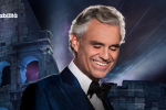 La voce di Andrea Bocelli strega il Colosseo: tenore e star mondiali insieme sul palco