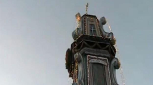 Festa ad Altavilla Milicia, sfila il carro trionfale della Madonna