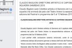 Claudio Baglioni conduttore di Sanremo, è ufficiale: l'annuncio del cantautore sui social