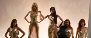 Claudia, Naomi, Helena, Carla e Cindy: le super top model di nuovo insieme in passerella