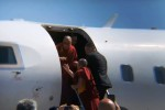 Dalai Lama in Sicilia, l'arrivo all'aeroporto di Catania - Video