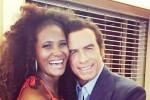 Riecco Denny Mendez, l'ex Miss Italia sul set insieme a John Travolta: le foto