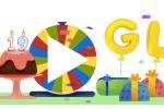 Google compie 19 anni e festeggia con la Ruota della fortuna