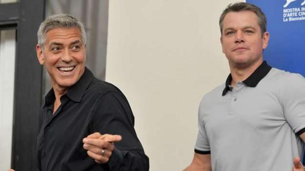 Rgs al cinema, intervista a George Clooney e Matt Damon