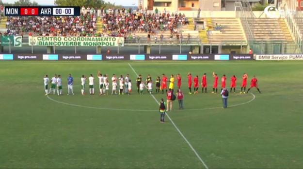 akragas calcio, monopoli-akragas, serie c, Agrigento, Sport