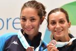 Scherma, l'Italia parte bene ai campionati militari: 4 medaglie