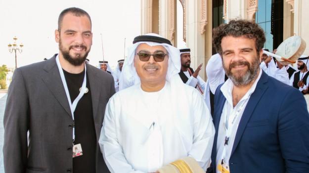 Dubai, pupi siciliani, Sharjah International Narrators Forum, Francesco Scherma, Toti Giordano, Sicilia, Cultura