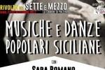 """""""La rivolta del Sette e Mezzo"""", a Palermo serata di musiche e danze popolari siciliane"""
