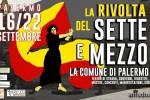 """""""La rivolta del sette e mezzo"""": teatro di strada, convegni e concerti a Palermo - Il programma"""