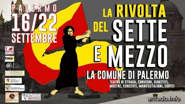 la rivolta del sette e mezzo, teatro concerti palermo, Palermo, Cultura