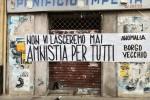 """""""Amnistia per i carcerati"""", Palermo invasa da striscioni - Le foto"""