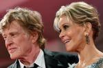 Robert Redford e Jane Fonda, tutte le foto di Venezia