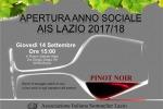 Ais Lazio inaugura l'anno sociale 2017-2018