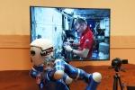 Dallo spazio AstroPaolo guida il robot Justin sulla Terra
