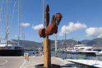 Le sculture di Aceves a Porto Lotti