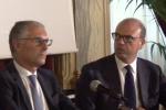 Regione, arriva il ticket Micari-La Via: scontro e querele fra Alfano e Salvini