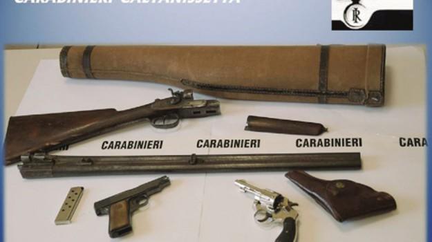 furto armi, Caltanissetta, Cronaca