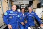 Il benvenuto di AstroPaolo ai nuovi compagni di equipaggio
