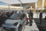 La prima volta della minicar elettrica 'made in Bari'