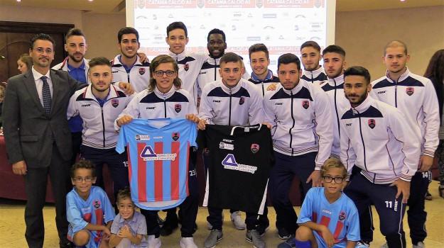 Catania Calcio a 5 - La presentazione