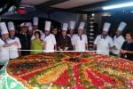 La cassata siciliana più grande del mondo a Mazara: pesa 1.319 chili