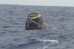 Rientrata la capsula Dragon, a bordo anche topi 'astronauti'