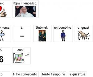Il Papa visita Gabriel in ospedale, gli aveva scritto con i disegni