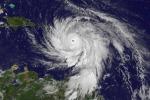 L'arrivo dell'uragano Maria a Porto Rico visto dai satelliti