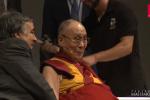 """Palermo, il messaggio del Dalai Lama: """"Questo è il secolo del dialogo"""" - Diretta"""