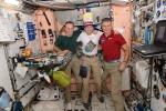 Tra compleanni e nuovi arrivi è festa sulla Stazione spaziale