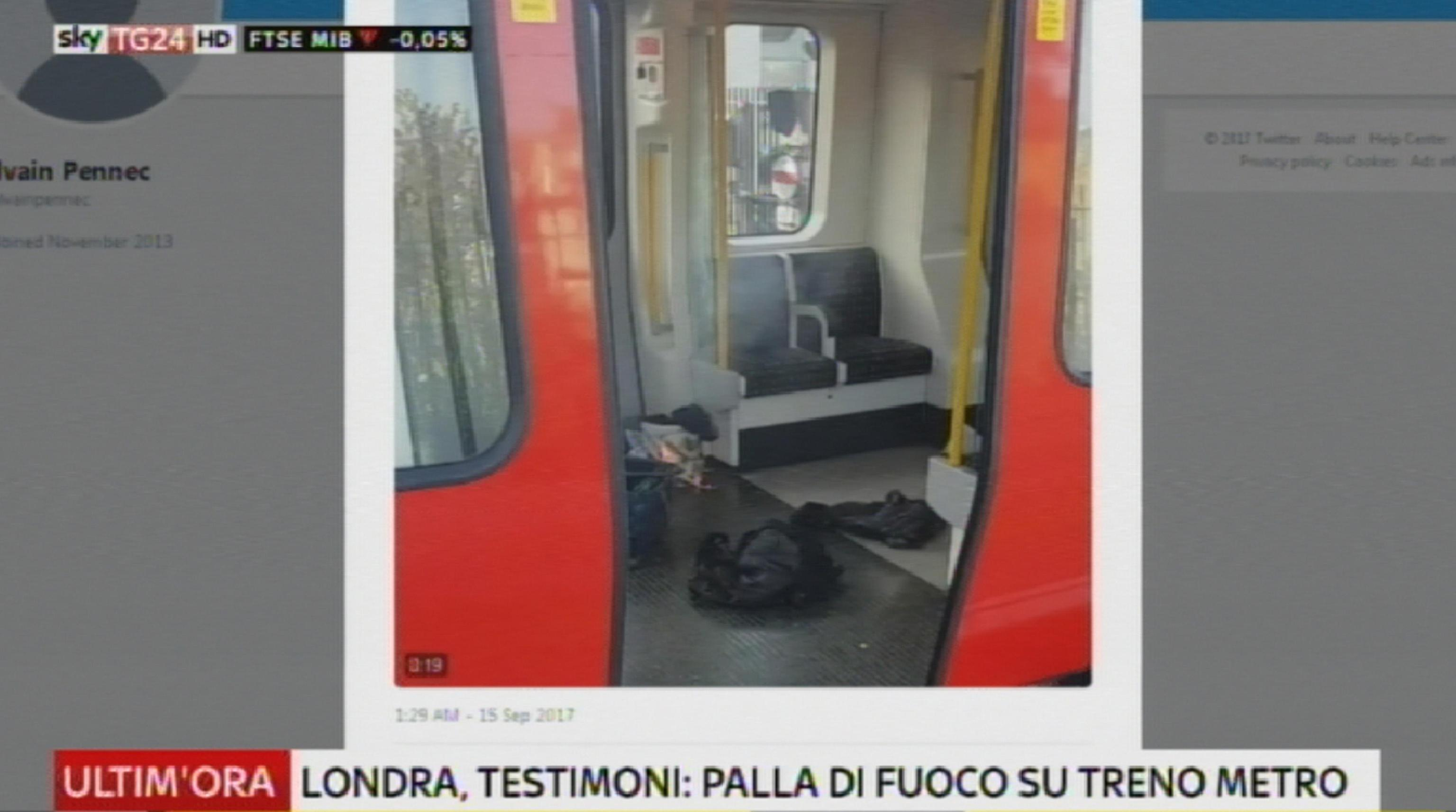 Londra, esplosione in metro a Parsons Green: 18 feriti. Scotland Yard: terrorismo