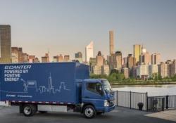 Daimler, in Usa arriva primo truck elettrico Fuso eCanter